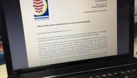 Brief an den Herrn Kultusminister von Hessen